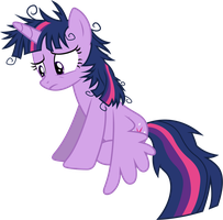Unkempt Twilight Sparkle by 90Sigma