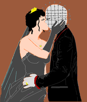 Pinhead and Kirsty Marriage. by cheeky-minx2009