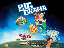 Big Drama SpongeBob Movie by shermcohen