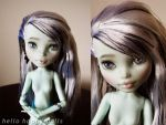 monster high frankie repaint 2 by hellohappycrafts