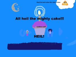 the almighty cake by Litle-Noa