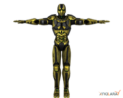 Cyrax for XNALara by deexie
