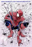 Spider-man hommage colored by scarecrowhassan