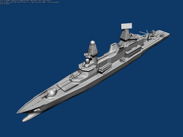 Ramia Class Frigate by Stealthflanker