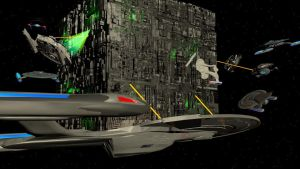 They've Engaged the Borg by Marksman104