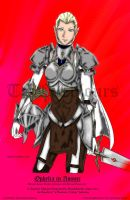 Ophelia In Armor Final By Bmesias063 Colour by TheSilentChloey