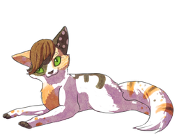 ClumsyKitteh by Bowtiefoxin
