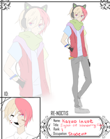 [RN] Kazuo Inuoe by iLoveYoohx3