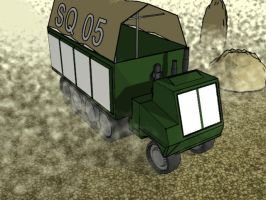 Industrial Halftrack by tokiyojimbo
