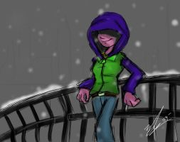 A lonely Content winter by Emerl-lad12