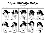 Style Exercise Meme by ichan-desu