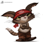 Day 829. Puss in Boots by Cryptid-Creations