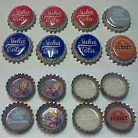 Fallout New Vegas Bottle Caps by lcponymerch