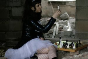 chess play 1 by lmrr-stock