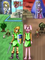 The Legend of Zelda: A Link to the Past by WhiteMageOfTermina