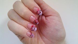 Flower crown nails 2 by TerKiller