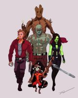 Guardians Unite! by tohdraws