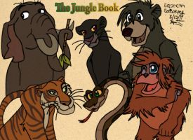 The Jungle book Gang :Remade: by Garfield141992