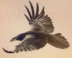 Raven - Completed by Makienzie
