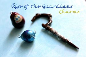 Rise of the Guardians Charms by GandaKris