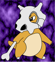 Cubone COLOUR by laprasking