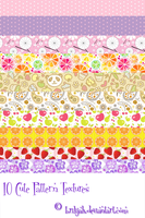 Cute Pattern textures by Brilijah