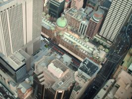 View from Above 1 by hatchback-girl