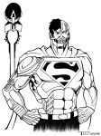 Cyborg Superman by artist Tom kelly by TomKellyART
