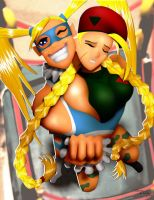 R. Mika vs Cammy by andre4boys