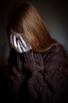 crying in his sweater by laura-makabresku