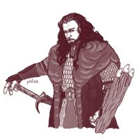 Thorin Oakenshield by Pulvis