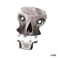 #24 Chattering Skull by orlyoreilly