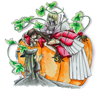 Halloween Collab '14: Sisters by MoPotter