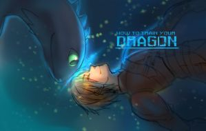 how to train your dragon by LuciFer0029