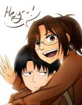 Hanji and Levi Speed Paint by TsubakiExplosion