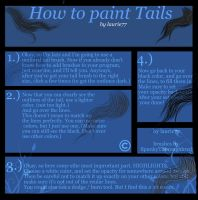 How to paint tails by laurie77