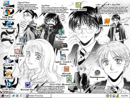 Harry Potter Doujinshi by Xaiyu