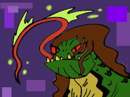 Mutated Reptile Carla!!! by Scottmister