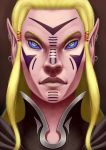 Symmetric elf by Asderuki