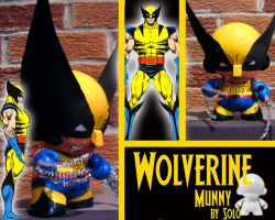 Wolverine Munny by Solointhematrix