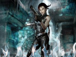 A Shadow is Born (Tomb Raider: Underworld) by Roli29