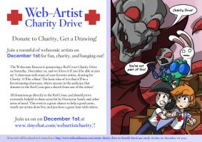 Webartist Charity Drive - Reality Announcement by tran4of3