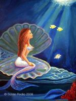 The Clamshell Mermaid by SusanR