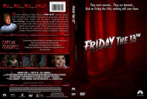 Friday the 13th Custom DVD Cover by SUPERMAN3D