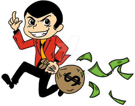 Lupin the 3rd - FU chibi by scaryta