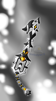 Keyblade Forge: Metallic Wings Keyblade by NWSaiyanX