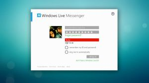 Windows Live Messenger Metro Concept by LuunArt