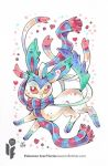 Pokemon Scarf Series: Shiny Sylveon 3/9 by cheru3