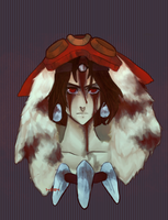 mononoke hime - the end of the compassion by 1-084