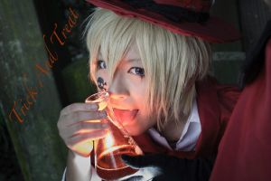 Kagamine Len - Trick and Treat 1 by 17th-Jokers